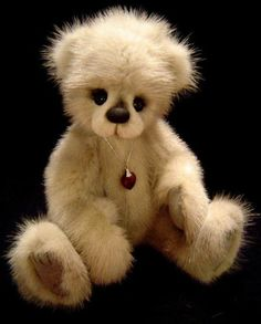 ADORABLE-MINK-TEDDY-BEAR-BY-BEAR-ARTIST-DOTTY-DUNN-OOAK