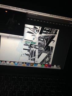 New York sketch work process