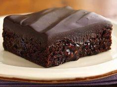 Chocolate raspberry brownie...mmmmm