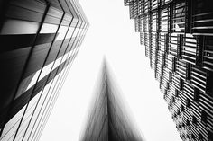 Looking up in London's South Bank | John Cavacas Photography