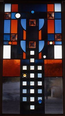 "Robert Sowers was a stained glass artist, writer of books, photographer, and the designer of the now demolished architectural glass installation at the AA Terminal at JFK. Stained glass, for him, was a process of using sheets of colored glass to ""paint with light"" and, as an art form, it had to have an architectural context. There was a period of exception to this perspective, roughly between 1971 and 1974, when he created a series of  autonomous panels."