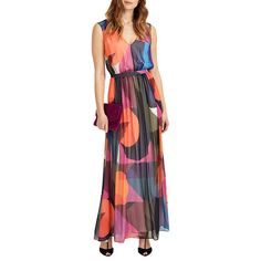 BuyPhase Eight Phoenix Maxi Dress, Black/Multi, 6 Online at johnlewis.com