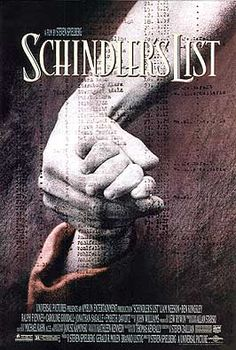 Schindler's List (1993). This movie came out when I was 7, but I didn't watch it until I was like 12. When all the kids my age were crazy about aladdin and the lion king, it was my favorite movie, though i had very little knowledge about the nazis and the holocaust. I watched it again in college and I loved it even more. It still is one of my favorite movies up to this day.
