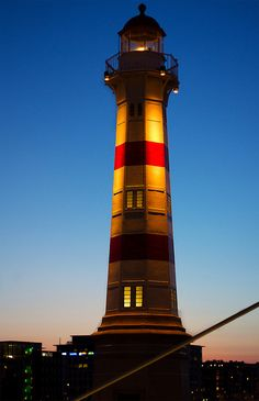 Malmo Lighthouse in Sweden