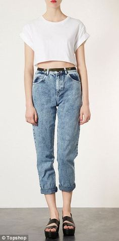 Topshop's 'Mom Jeans' WHY?