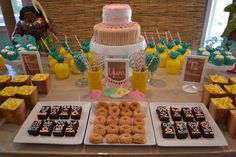 Kimberly's Moana Party | CatchMyParty.com