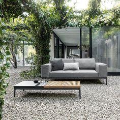 Moderne loungemöbel indoor  Gloster Lifestyle Gartenmöbel - Gollreiter | Lounge Möbel von ...