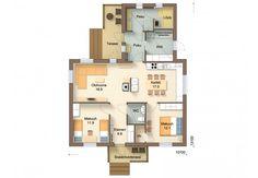 94-11M - Jukkatalo Floor Plans, Floor Plan Drawing, House Floor Plans