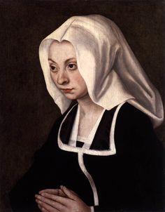 Portrait of a Donatrix, 1508, Lucas Cranach the Elder