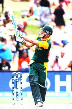 South Africa vs Zimbabwe, Pool B, Match 3 David Miller hit nine sixes en-route his century.