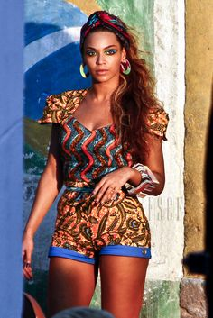 HOLLYWOOD CELEBRITIES ROCKING AFRICAN Ankara PRINTS | Obsessed