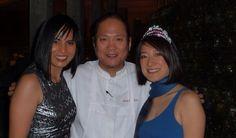 Iron Chef Morimoto, Ann Suwanjindar, and Teresa Hu