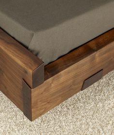 Elegant Wooden Bed Design l Closer Look