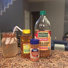 ✨My daily glass of Apple Cider Vinegar, Water, Cinnamon, & Honey ✨I take this for its Health benefits NOT to replace a meal. Drink this with clean and well balanced meals!✨ ------------------------------------ ------------ ✨ 1 Tablespoon ACV ✨ 1 Tablespoon Cinnamon ✨ 1 teaspoon raw & unfiltered Honey ✨ Fill Glass with Water ✨ Ice is optional ✨Mix all ingredients with spoon and enjoy. You can also use Agave in place of the Honey as well, and you can also add fresh squeezed juice for more…