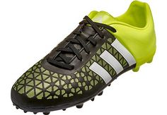 official photos f86fc b5303 adidas Kids ACE 15.3 FG AG Soccer Cleats - Black and White - SoccerPro.com