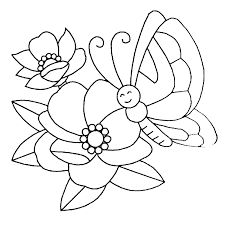 Image result for drawings of flowers and butterflies
