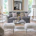 Home Decorating Style 2019 for Black Grey And Gold Living Room, you can see Black Grey And Gold Living Room and more pictures for Home Interior Designing 2019 at Best Home Living Room. Living Room Grey, Home Living Room, Living Room Designs, Living Room Decor, Silver Living Room, Silver Room, Apartment Living, Living Spaces, Design Salon