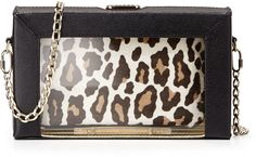 Charlotte Olympia Astaire Box Clutch & Pouch Set, Black on shopstyle.com
