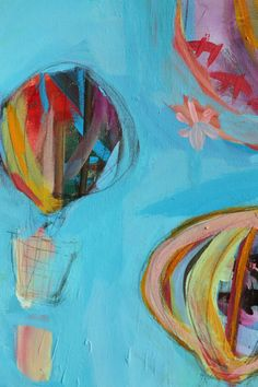 Pam Garrison painting - love the whimsical nature of this painting