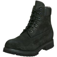 "Timberland Men's 10073 6"" Premium Boot,Black Nubuck,9.5 W - http://buyonlinemakeup.com/timberland/9-5-2e-us-timberland-mens-10061-6-premium-boot-wheat-2"