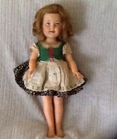 My Shirley Temple doll original ideal  Purchased in 1969