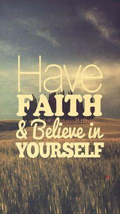 Believe in U