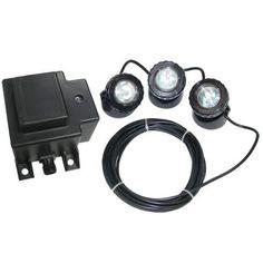 Low Voltage Transformer Home Depot Enchanting Beckett 3 Led Pond Light Kit  Pond And Lights Inspiration Design