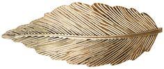Material:    Goldfarbene        Haarspange in Form eines länglichen Blattes.   Länge:  10,5        cm   Breite:  4 cm