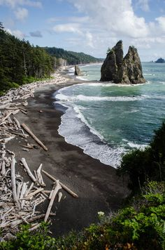 Olympic National Park, North Beach, Washington State