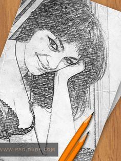 Create a Pencil Photo Sketch in Photoshop - Photoshop tutorial | PSDDude