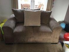 DFS Amber range in mocha 2 seater sofa