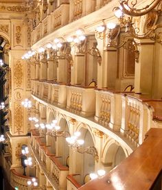 Bologna: Teatro Comunale Boxes by wineprincess44 on Flickr - Italy