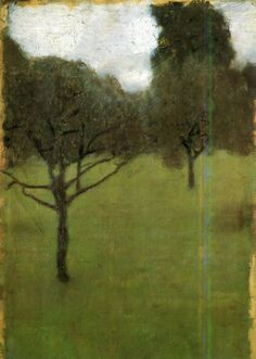 outdarethenight:  Obstgarten, Gustav Klimt, 1896