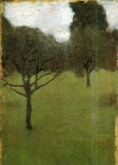 outdarethenight:  Obstgarten, Gustav Klimt, 1896