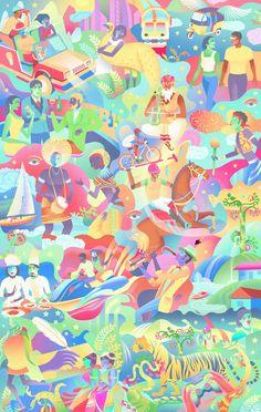 Print Magazine, Mumbai, Illustrators, Profile, Detail, Life, User Profile, Bombay Cat, Illustrations