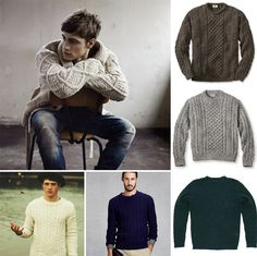 Instead: rely on a chunky fisherman sweater for warmth. | 10 Signs It's Time To Update Your Wardrobe
