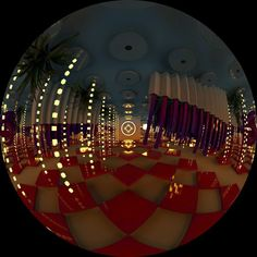 Fred Trétout :: Interactive Motion Designer - SATOSPHERE :: DOME PROJECTION
