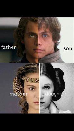 The irony being that Mark Hamill and Carrie Fisher are old enough to be Hayden and Natalie's parents. <<But man, Star Wars' casting is the shit Star Wars Film, Star Wars Art, Star Trek, Star Wars Padme, Anakin Vader, Anakin Skywalker, Darth Vader, Amour Star Wars, Tableau Star Wars