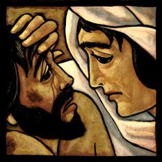 Semana Santa| Terça-Feira: O Encontro doloroso de Jesus e Maria http://wp.me/p5npG-1Ma via @blogdominnus