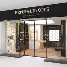 Contemporary store for Penhaligon's at Bluewater - Retail Design World