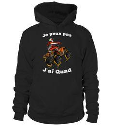 Je peux pas - J'ai Quad - Cool Moto Cross Tout Terrain T-Shirt, Hoodie ,Sweat À Capuche Unisexe, Sweater, Col Rond Femme, Manches Longues, Premium, Enfant | Teezily | Achetez, créez et vendez des tee-shirts qui vous ressemblent Moto Cross, T Shirt, Sweatshirt, Hoodies, Sweaters, Quad, Fashion, Hoodie Sweatshirts, Kid