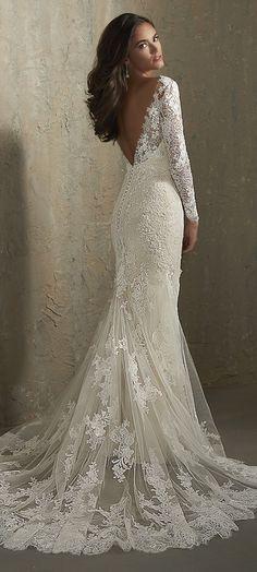 311 best Mermaid Wedding Dresses images on Pinterest in 2018