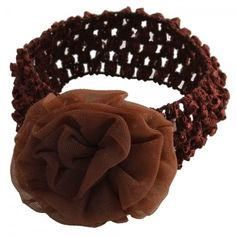 With special decorative design, this product is extremely attractive and beautiful Bright color makes your baby lovely and pretty Made of good material, they are soft and comfortable Fashion stretchy headband/ hair band Fancy design with good quality Suitable for any occasion  Specifications Color	Coffee Material	Cotton Size	Free size ( Elastic ) Age	1 -5 years old Weight	10g / 0.35 oz  Package Includes 1 x Baby Hair Rose Flowers Headband for Baby Coffee  From HK  RM13 each PRE ORDER now..