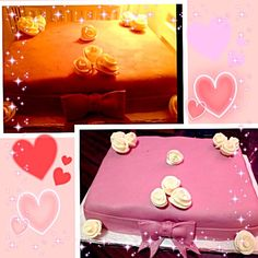 wow very beautiful lovely it is . I thought whether to have been real accessories. HAPPY BIRTHDAY✨ - 12件のもぐもぐ - my birthday cake#husband made this cake# surprise#hubby's first try with fondant# priceless# the best gift > 主人のて作ったケーキです。#私の誕生日ケーキ#最高のプレゼント :)) by Len(^_−)−☆