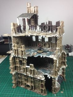 Click this image to show the full-size version. Warhammer Terrain, 40k Terrain, Game Terrain, Wargaming Terrain, Warhammer Games, Warhammer 40000, Water Effect, Warhammer 40k Miniatures, Story Arc