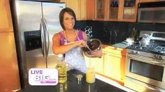 Here's a quick & easy way to save calories when you are baking!  LIVE BIG!