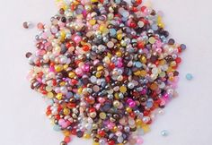 2mm Assorted Faux Pearl Cabochons Mix / Colorful Pearl Mix on Etsy, $0.50
