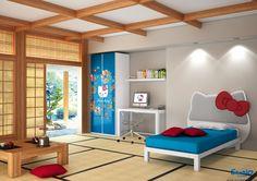 Hello Kitty Orientale Bedroom