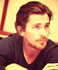 Hands down my ultimate all time man crush! Christian Bale <3 GAH he's so fine!