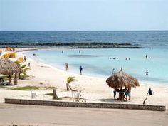 The Famous Baby Beach In Aruba Is A True Caribbean Paradise Gorgeous Half Moon Sandy Expanse Calm Lagoon